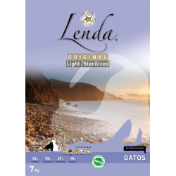 Lenda gato Light Sterilized 3 kg