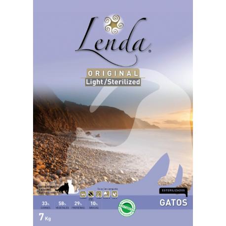 Lenda gato Light Sterilized 3 kg