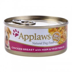 Applaws Perro Pollo Jamon y Verd 156gr (16)